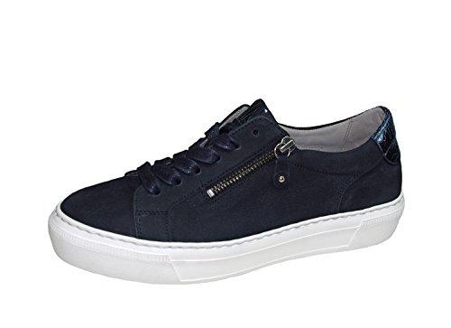 Mesdames Sneaker 38 38.5 39 40 bleu Gabor 64.314.16 dames lacent largeur F Bleu