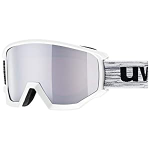 Uvex Athletic FM Ski Goggles, Unisex, S5505201030, white/black, One Size