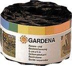 GARDENA 530-20 Beeteinfassung, braun, Rolle 9 cm hoch, 9 m lang