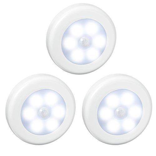 AMIR Lampe Détecteur de Mouvement, LED Detecteur Mouvement, Lampe de...