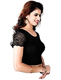 CDPL Express Readymade Stretchable Free Size U Neck Blouse For Women