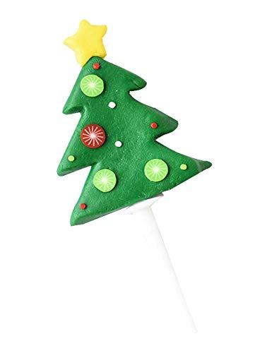 2 Stück Weihnachten Cupcake Toppers, Cupcake Dekoration für Zuhause/Party, A4 (Cupcakes Uk Halloween Dekorationen)