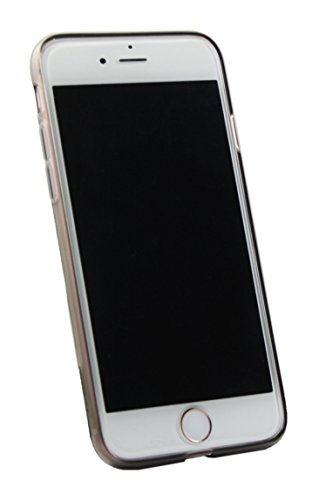 Emartbuy® Apple iPhone 7 Matt Gel TPU Etui Coque Case Cover Pack of 3 - Noir, Clair E Blue Noir Matt Gel