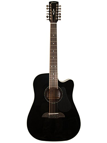 FRAMUS LEGACY DREADNOUGHT CE 12STRING – BLACK HIGH POLISH