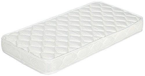 Nuits D'or Natura Baby 70x140 Matelas Mousse Indéformable - Tissu 70% Coton - Hauteur 14 Cm - Anti-acariens Antibactériens Hypoallergénique (70_x_140_cm)