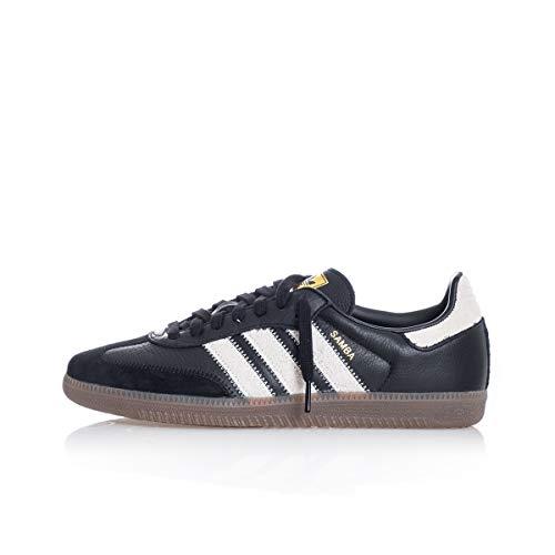 adidas Sneakers Uomo Samba OG FT EE5457 (41 1-3 - CBLACK-RAVWHT-Goldmt)