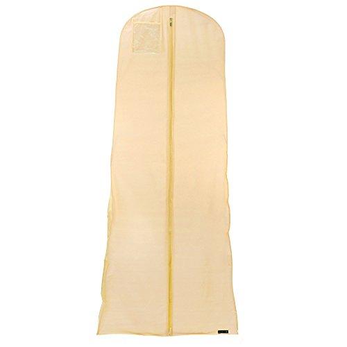 3 Kleidersack, wasserabweisend, 183 cm lang, elfenbein Hangerworld