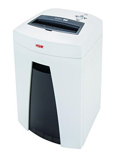 HSM Securio C18–Destructora de documentos grado de seguridad 2/Copa en bandas 13–15hojas 3.9mm color blanco