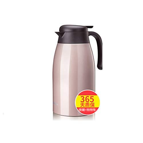 Xiaoqiang Isolierkessel-Haushalt 304 Edelstahl Isolationstopf Outdoor-Thermoskanne Thermoskanne...