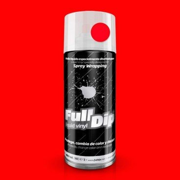 SPRAY FULL DIP BASICOS 400 ML - ROJO FLD008
