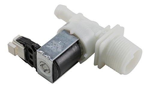 DREHFLEX - Ventil / Magnetventil / Einlaufventil / Wasserventil passend für diverse Geschirrspüler / Geschirrspülmaschine / Spülmaschine / Spüler von Bauknecht / Whirlpool - passend für Teile-Nr. 480140102032 - 461972609661 3290211 / 03290211