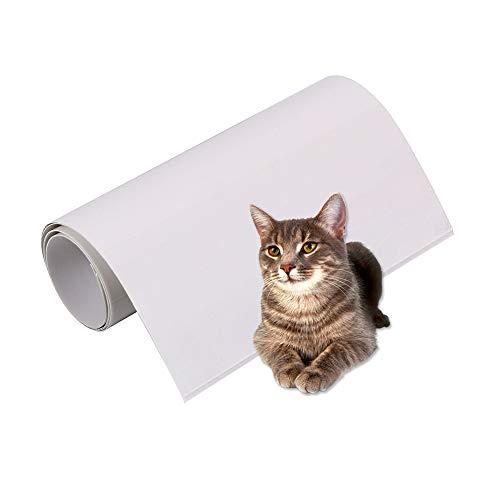 SurfMall 2PCS Rescador para Gatos Protector de Muebles Cat Scratch Guard contra Arañazos de Gatos y Perros Sofá antiarañazos Afilador de Uñas