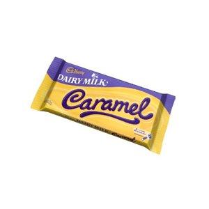 Cadbury Milchprodukte Karamell 120g (Packung 13)