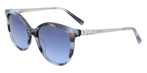 Swarovski -  occhiali da sole - donna blu lucido 55
