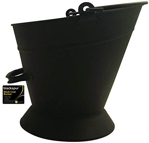 Blackspur bb-fs301-Cubo para carbón, Color Negro
