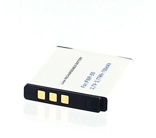 Akkuversum Ersatz Akku kompatibel mit Fuji NP-50 Ersatzakku DigiCam Kamera -