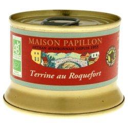 Maison Papillon Terrine mit Roquefort (130 g) - Bio