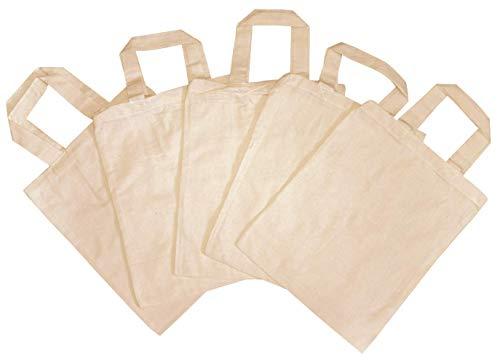 5 bolsas de tela para niños
