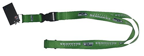 aminco NFL Seattle Seahawks Team Farbe Lanyard, 56 cm, Lime