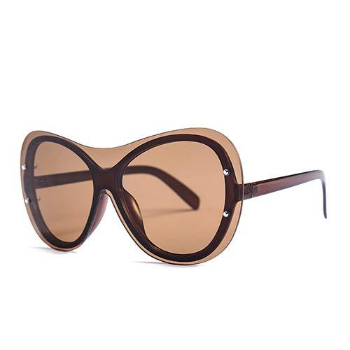 YLYZJH Frauen Mode cat Eye Sonnenbrille männer EIN stück Sonnenbrille großen Rahmen Eyewear uv400 Brille