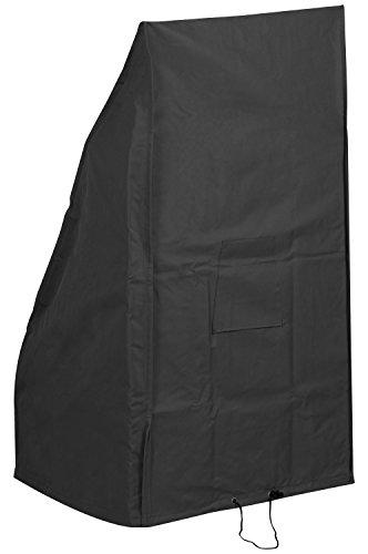 Woodside - Housse de protection - pour tondeuse à gazon - étanche - noir - petite taille