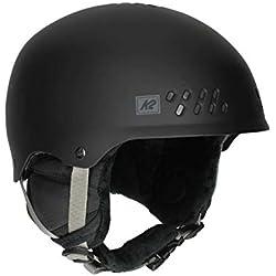 K2Homme Phase Pro Black Casque de Ski M Noir