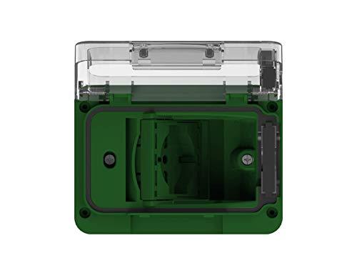 Preisvergleich Produktbild WIDE IP55 komplett mit Schutzschuko bivalent grün für Einbaudose Typ 503