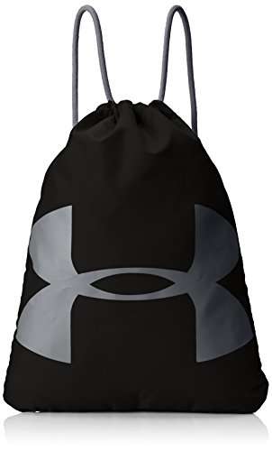 Under Armour Unisex Adult UA Ozsee Sackpack, Black, One Size