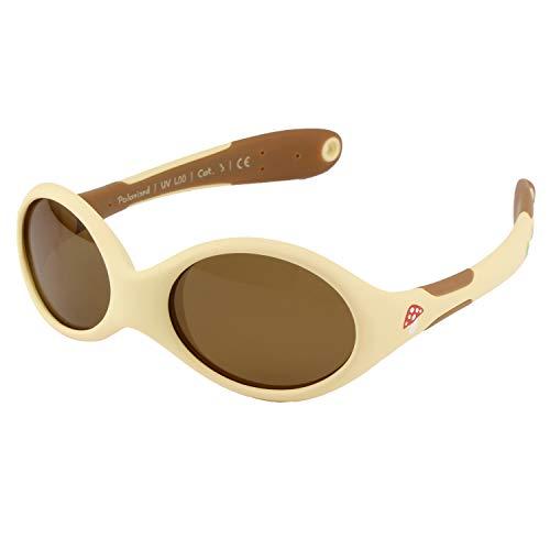 ActiveSol BABY-Sonnenbrille | MÄDCHEN | 100% UV 400 Schutz | polarisiert | unzerstörbar aus flexiblem Gummi | 0-2 Jahre | 18 Gramm (S, Forest)