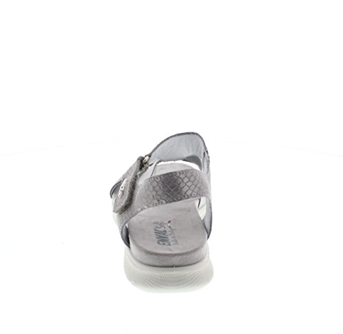 ENVAL SOFT DONNA Sandalo zeppa Art79634 FUCILE grigio - 400