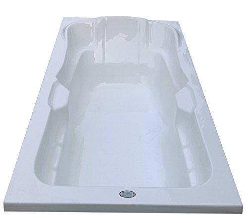 MADONNA Elegant Acrylic Bath Tub - White