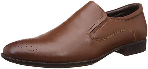 Bata Men's Rickon Brown Leather Formal Shoes  – 8 UK/India (42 EU)(8544304) image - Kerala Online Shopping