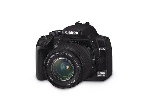 Canon EOS 400D SLR-Digitalkamera (10 Megapixel) inkl EF-S18-55 - 3