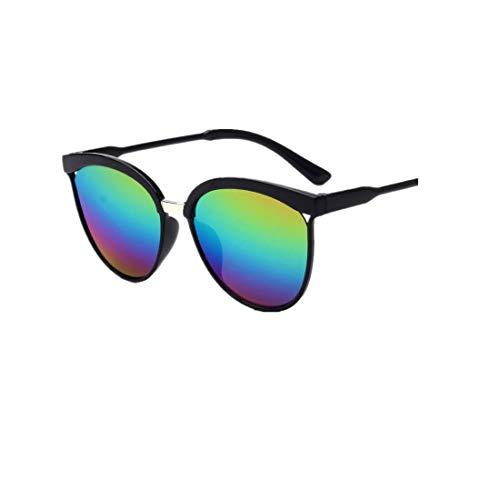 Hollow Big Box Sonnenbrillen YunYoud Männer Frauen Square Vintage verspiegelten Sonnenbrillen Eyewear Outdoor Sportbrillen
