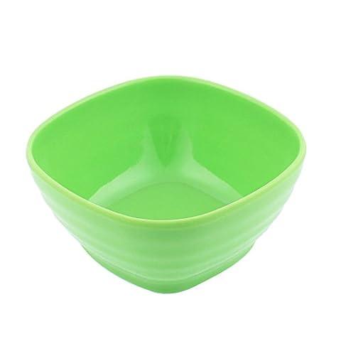 sourcingmap Plastic Square Shape Soup Cereal Fruits Rice Salad Bowl