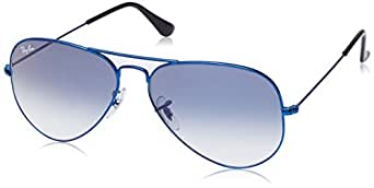 Ray-Ban Aviator Sunglasses (Blue) (RB3025|088/3F|58)