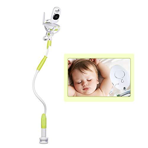 Lispeed Support Universel pour Appareil Photo pour bébé - Support pour écran de bébé, Support vidéo pour caméra Flexible, Compatible avec Les écrans Philips Motorola, Vert, 950 mm