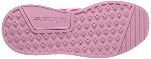 adidas X_PLR J, Scarpe da Ginnastica Unisex Bambini, Rosa True Shock Pink/Ftwr White, 37 1/3 EU