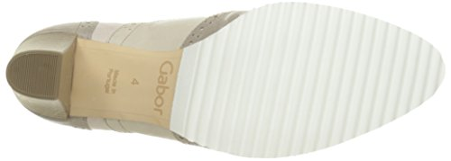 Gabor 41-372-53, Chaussures lacées femme Multicolore (gris/beige)