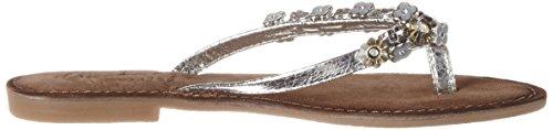 Mustang Damen 3126-801-21 Zehentrenner Silber (21 silber)