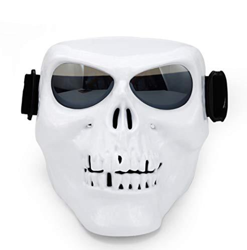 JIE KE Motorrad Helm Maske Outdoor Reiten Schädel Windschutzscheibe Persönlichkeit Sand-Proof Augenschutz Brille Ausrüstung Männer