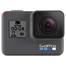 1 de GoPro Hero6 Black - Videocámara de acción (4K, 12 MP, resistente y sumergible hasta 10m sin carcasa, pantalla táctil 2