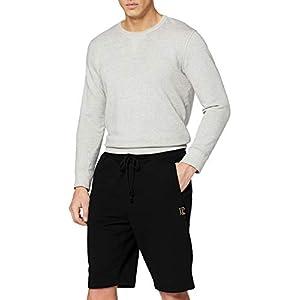 JP 1880 Herren große Größen bis 8XL, Bermuda-Shorts, Kurze Jogginghose mit elastischem Bund, Sweat-Pants mit 2 Taschen 702636