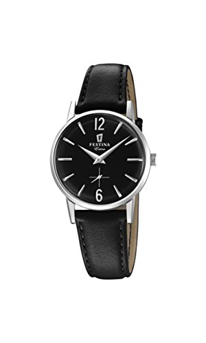 Festina Womens Analogue Classic Quartz Connected Wrist Watch with Leather Strap F20254/4