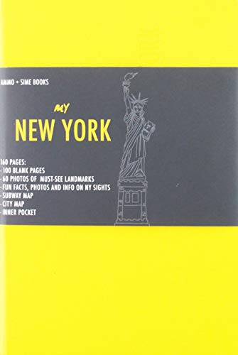 New York visual notebook. Yellow saffron (Notebooks) por Russo William Dello