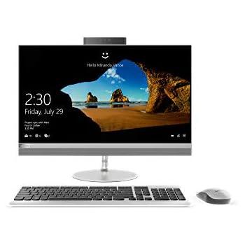 1bd10aecce3 Lenovo 520 24IKL AIO 23.8-inch All-in-One Desktop (7th Gen Core  i5-7400T/8GB/2TB/Windows 10 Home/2 GB Graphics), Silver