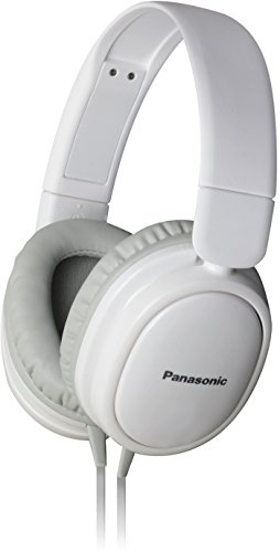 Panasonic RP-HX250 White Over-Ear Headphones for iPod/MP3 Player/Mobiles