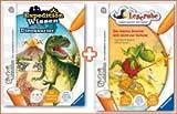 """tiptoi® Paket Dinos & Drachen: Buch """"Leserabe - Der kleine Drache will nicht zur Schule"""" + Buch """"Expedition Wissen: Dinosaurier"""""""