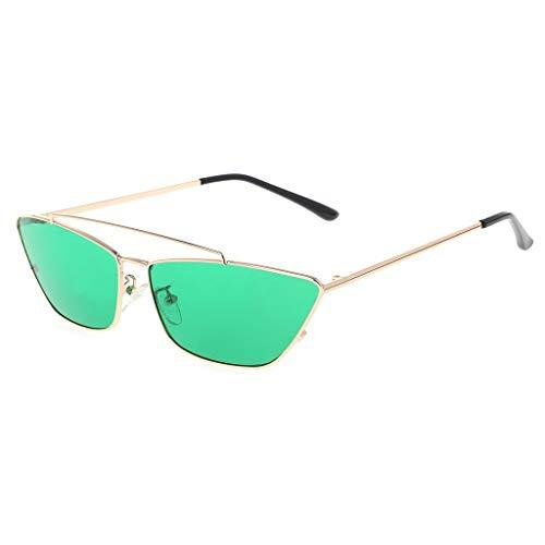 Yanhonin Sonnenbrille Ocean Lens Fashion Metal Frame Flat UV400 Marke Designer Eyewear 6