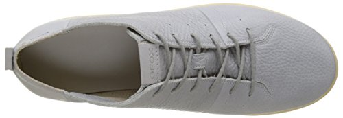 Geox U New Do B, Sneakers Basses Homme Gris (Icec1003)